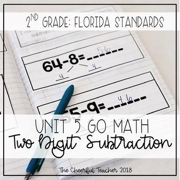 2nd Grade Go Math! Interactive Notebook: Chapter 5 ~ Flori