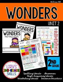 2nd Grade Grade WONDERS Morning Work Unit 2