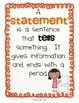 2nd Grade Grammar Pack Treasures MMH Unit 1