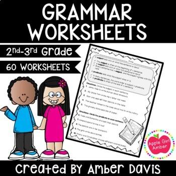 2nd Grade Grammar Practice for Language Standards