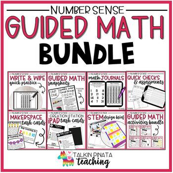 Guided Math Bundle {2nd Grade Number Sense}