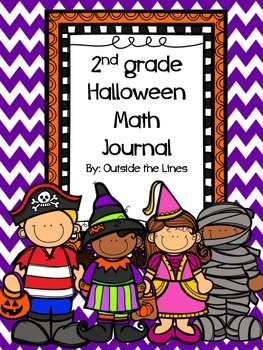2nd Grade Halloween Math Journal