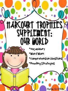 2nd Grade Harcourt Trophies Supplement: Just For You Theme
