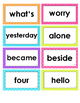 2nd Grade High Frequency Word Cards - Unit 6