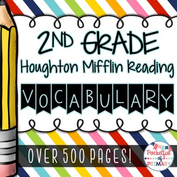 2nd Grade Houghton Mifflin Reading Vocabulary