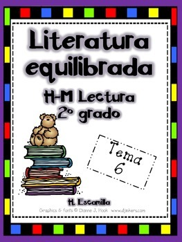 2nd Grade Houghton Mifflin Theme 6 - Balanced Literacy in Spanish
