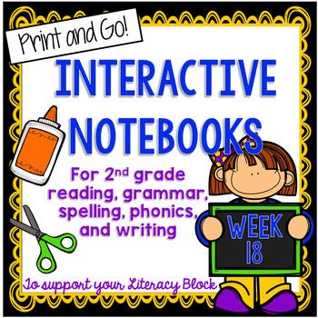 2nd Grade Interactive Notebook Week 18:Understanding Chara