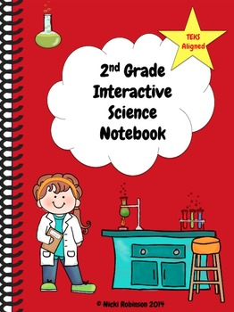 2nd Grade Interactive Science Notebook Kit - TEKS Aligned