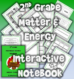 2nd Grade Interactive Science Notebook: Matter & Energy (STAAR)
