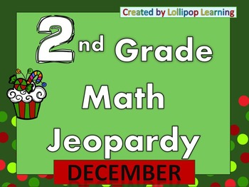2nd Grade Jeopardy (December)
