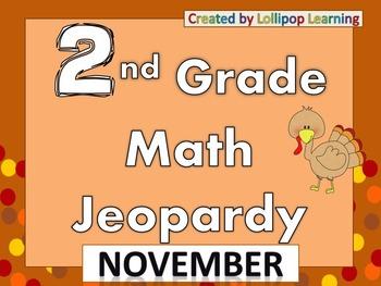 2nd Grade Jeopardy (November)