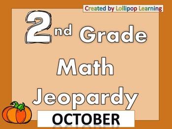 2nd Grade Jeopardy (October)