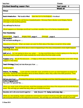 """2nd Grade Journey's Lesson 17 Guided Reading Plan """"Take Me"""