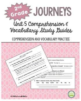 2nd Grade Journeys 2014, Unit 5, Common Core Comprehension