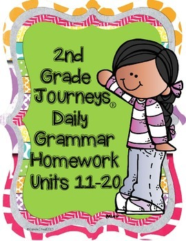 2nd Grade Daily Grammar Homework