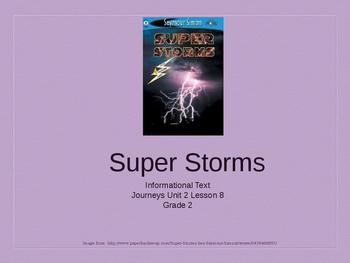 2nd Grade Journeys Unit 2 Lesson 8 Super Storms