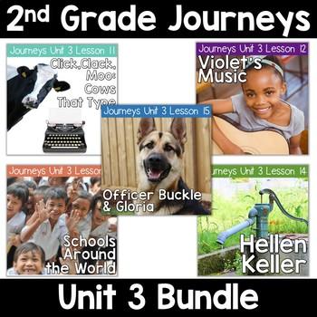 2nd Grade Journeys Unit 3: Lessons 11-15 Supplemental Reso