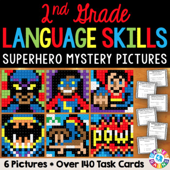 2nd Grade Language Centers: 2nd Grade Language Activities