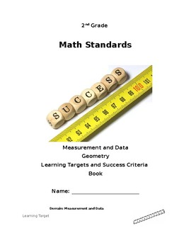 2nd Grade Learning Targets and Success Criteria Book (Meas