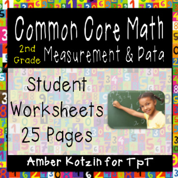 2nd Grade *MEASUREMENT & DATA* Common Core Worksheets