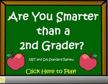 2nd Grade Math - Are You Smarter Than a 2nd Grader? Flipch