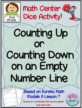 2nd Grade Math Center/ Counting Up or Down on an Empty Num