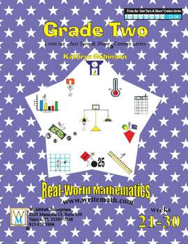 Daily 2nd Grade Math Centers (Weeks 21 - 30) | Common Core