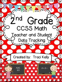 2nd Grade  Math Common Core Teacher and Student Data Track