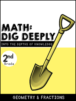 2nd Grade Math-Dig Deeply Into Geometry and Fractions: Hig