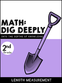 2nd Grade Math-Dig Deeply Into Higher Order Thinking for L