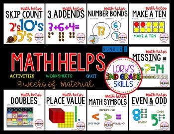 2nd Grade Math Helps - Term 1