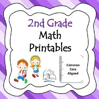 Interactive Math Notebook: Second Grade
