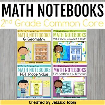 2nd Grade Math Interactive Notebooks