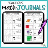 2nd Grade Math Journals {Fractions}