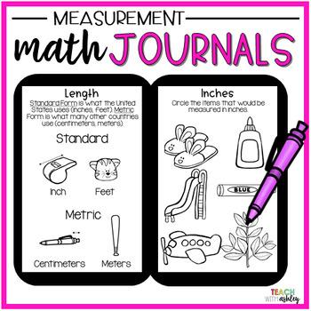 2nd Grade Math Journals {Measurement}