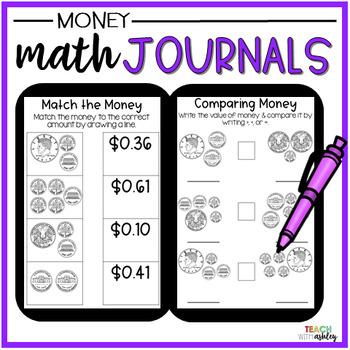 2nd Grade Math Journals {Money}
