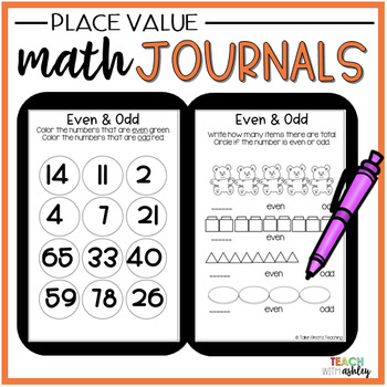 2nd Grade Math Journals {Place Value}