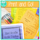 2nd Grade Math One Page Foldables