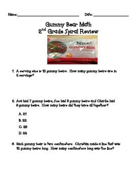 2nd Grade Math: Spiral Review