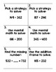 2nd Grade Math Topic 11 Test & Test Review Pack adapted fr