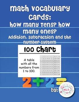 2nd Grade Math Vocabulary Cards: How Many Tens? How Many O