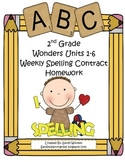 Wonders McGraw-Hill Differentiated 2nd Spelling Homework U