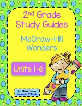 2nd Grade McGraw-Hill Wonders (Editable) Weekly Study Guid