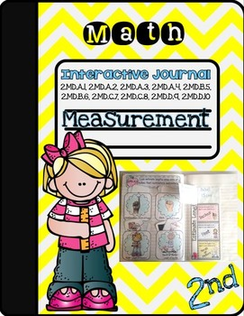 2nd Grade Measurement Interactive Journal- All Measurement