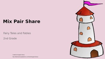 2nd Grade Mix Pair Share - Comparing Fairy Tales or Fables
