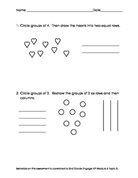 2nd Grade Module 6 Topic B Assessment