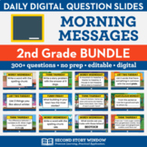 2nd Grade Morning Messages (NO PREP)
