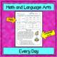 2nd Grade Morning Work / Homework / Bell Work (1st Quarter)