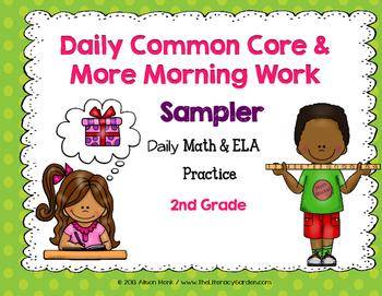 2nd Grade Morning Work Sampler