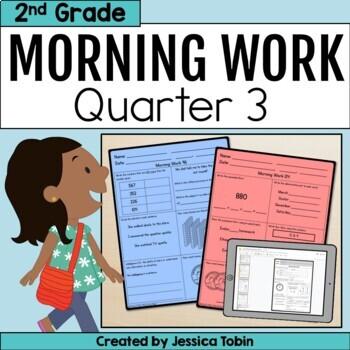 Second Grade Morning Work 3rd Quarter